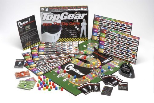 BBC Top Gear: Race the Stig Game - Interactive Electronic Board Game by Toy Brokers