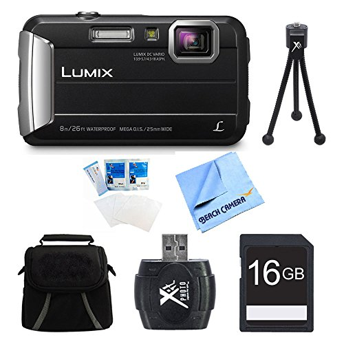 Panasonic LUMIX DMC-TS30 Active Tough Black Digital Camera 1