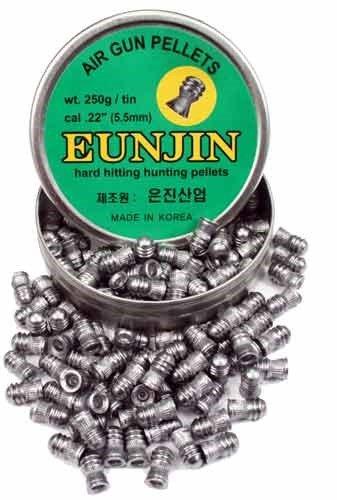 Eun Jin .22 Cal, 28.4 Grains, Domed, 125ct by Eun Jin