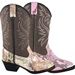 Smoky Mountain Boys' Snake Print Cowboy ...