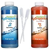 Standard Hydroponics pH Up and Down Kit,10 Ounce Liquide Nutrients Solution, For Hydroponic Grow Media, Coco Coir-Soil pH (PH Up-Down)