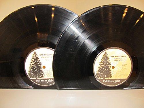 Recreation Window (Vinyl Record Bookends LP Dan Fogelberg Windows and Walls & Greatest Hits)