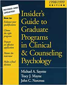 Psychotherapy, Clinical Psychology, and Counseling