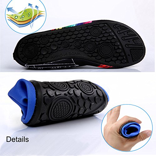 Women's Shoes Sandals New Beach Quick lightning Sports Shoes Water Shoes black Dry Lightweight and Aqua Men's n544BIqg