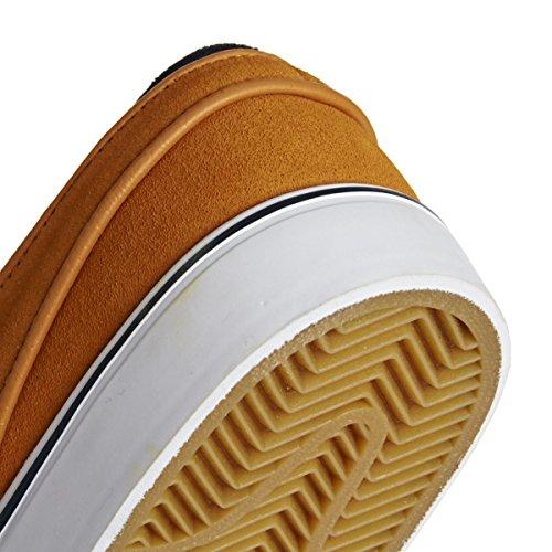 Nike Zoom Stefan Janoski Zapatillas de skateboarding, Hombre Negro / Marrón (Sunset / Snst-Obsdn-Gm Lght Brwn)