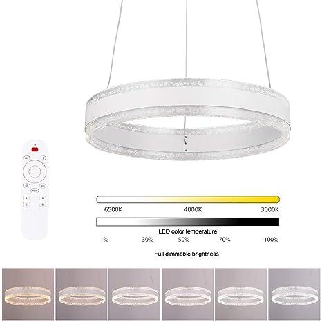 Lámpara colgante LED regulable - Lámpara de techo, diseño ...