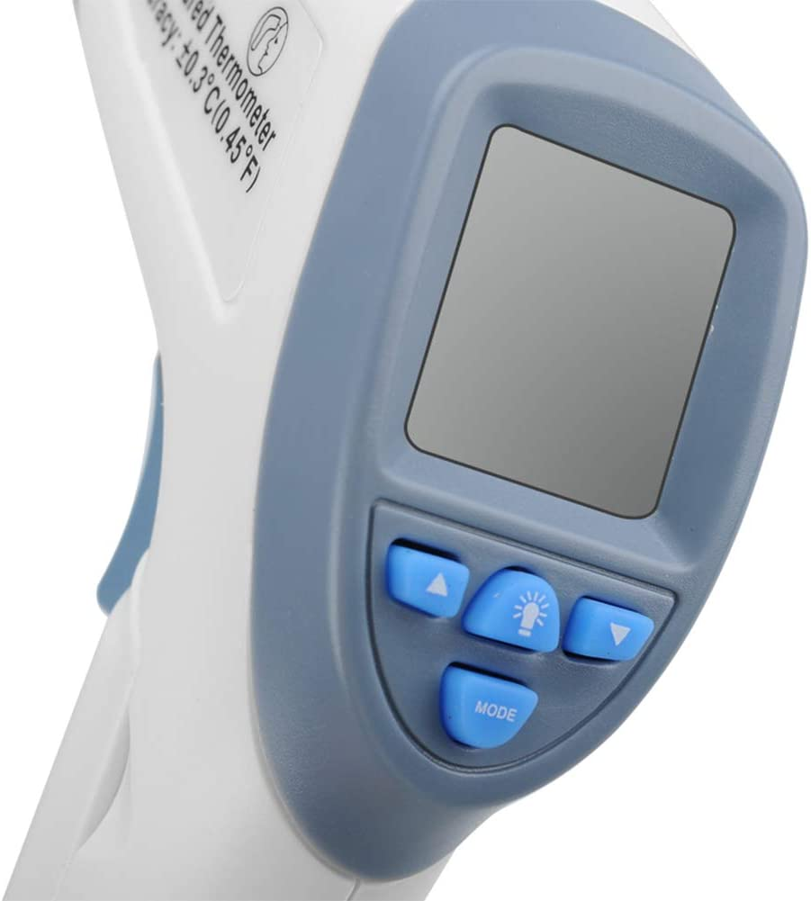 RONSHIN Electronics Infrared Non Contact Body Thermometer LCD Display Store 32 Readings