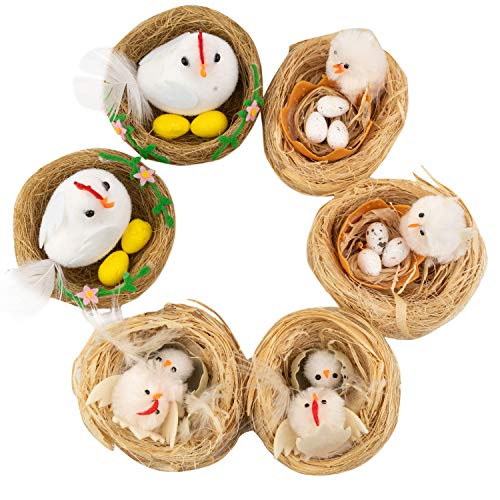 QILICHZ 6Pack Easter Chicks Chenille Easter Day Gift for sale  Delivered anywhere in USA