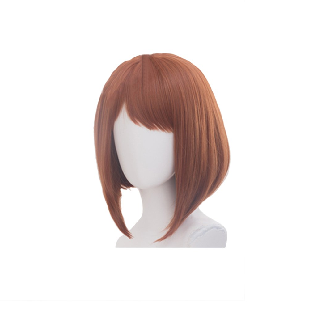 Amazon.com: Momo Yaoyorozu Wig Cosplay Hero Academia Long Black Hair Costume Accessories Props: Clothing
