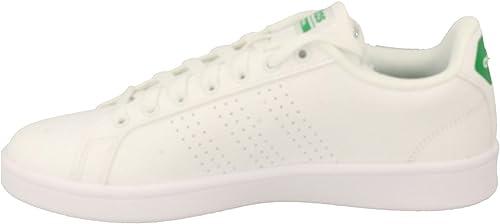 adidas Cloudfoam Advantage Clean, Baskets Basses Homme