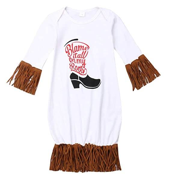 Amazon.com: FAROOT - Conjunto de ropa de dormir para recién ...