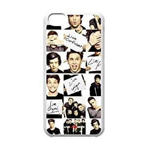 One Direction DIY Cover Case for Iphone 5C,personalized phone case ygtg-332815