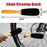 Yallbore 9Pcs Bicycle Cleaning Brush Tools