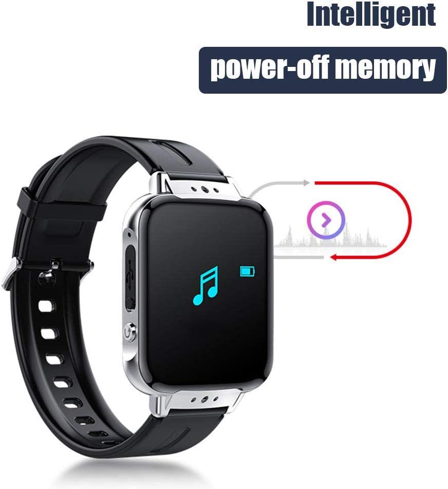 S11 Bluetooth Sport-Uhr-2 IN 1 Smart Armband Pedometer Lossless Musik Hifi MP3-Player-Unterst/ützung E-Book Walkman HD Aufnahme,8g