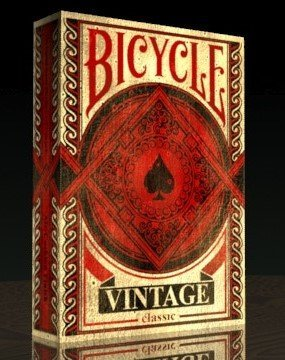 Vintage Playing Cards by Bicycle (Vintage Cards Playing)