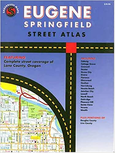 FREE Eugene Springfield, Oregon: Street Atlas- GMJ. working starting Estados horas Friday Second letter heart