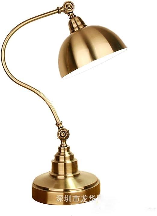 JXXU Lámpara de Mesa Vintage Lámpara de mesilla de Noche, lámpara ...