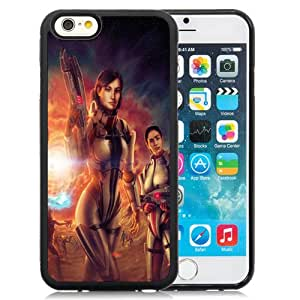 New Fashion Custom Designed Skin Case For iPhone 6 4.7 Inch TPU Phone Case With Mass Effect 3 Artwork Phone Case Cover
