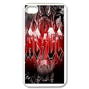 iPhone 4,4S Cell Phone Case AC DC Case Cover PP8D312433