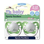 Michaelson Entertainment 2 Piece Pacifier, Golf