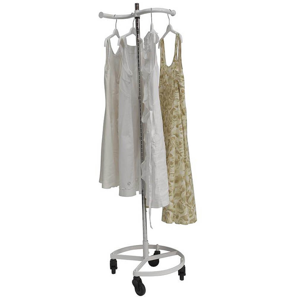 個人Valet衣類ラック – シングルレールホワイト[キッチン] B005E01TGU