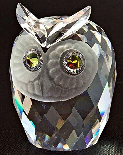 Swarovski Crystal Owl Retired #010022 (2