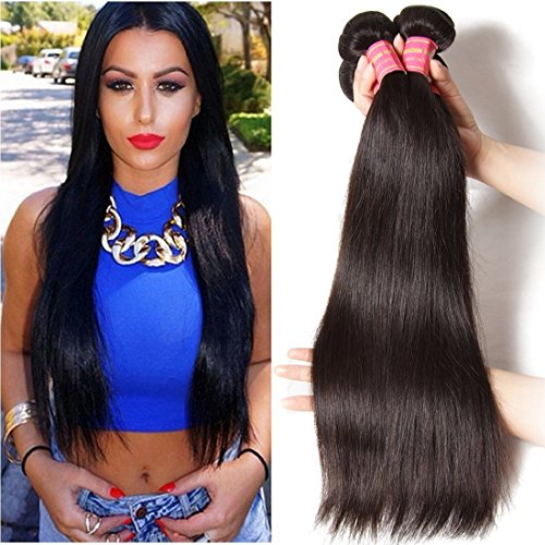 YIROO Malaysian Straight Unprocessed Extensions