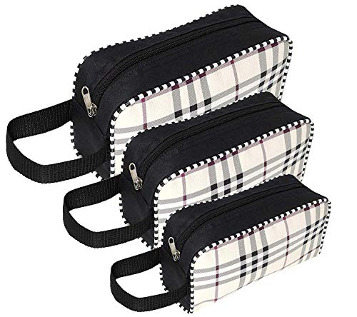 SNDIA Multipurpose Travel Pouch Toiletry Shaving Cosmetic Makeup Kit Bag (3 SET POUCH)