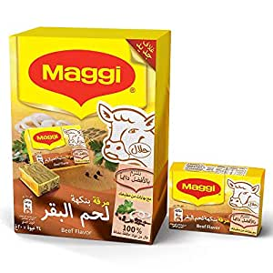 Maggi Beef Stock Bouillon Cubes, 24 Count