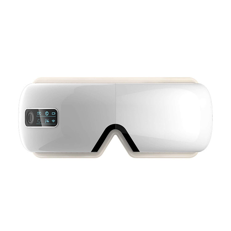 アイマッサージャー、アイプロテクター、充電、アイマッサージャー、恒温ホットプレス、多周波振動  White B07MH57ND9