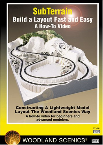 (SubTerrain:  Build a Layout Fast and Easy-DVD)