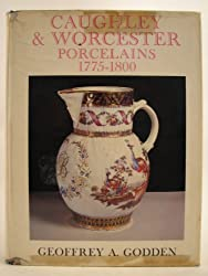 Caughley and Worcester Porcelains, 1775-1800
