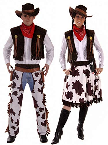Couples Mens & Ladies Cowboy & Cowgirl