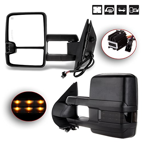 08 gmc towing mirrors - 5