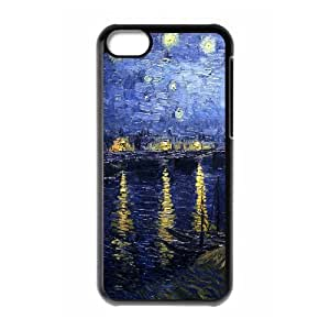 ALICASE Diy Hard Shell Case Van Gogh For Iphone 5C [Pattern-1]