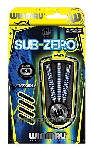 Winmau Sub-Zero 80% Tungsten Steel-tip Darts - 22 Grams