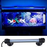 Weksi®7.7 Inch 18 Led Aquarium Light 12V 1.8W Fish Tank Light(Waterproof, Blue)