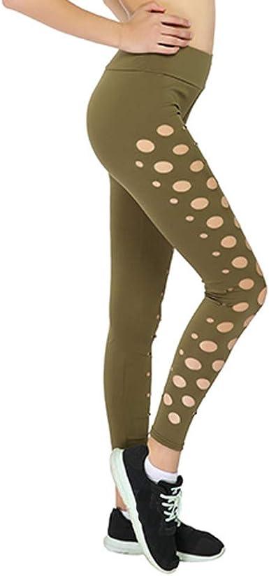 Calcedonia Leggings Push Up Pantalones Elasticos Mujer Yoga ...
