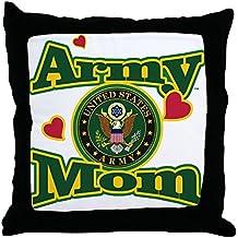 "CafePress - Army Mom - Decor Throw Pillow (18""x18"")"