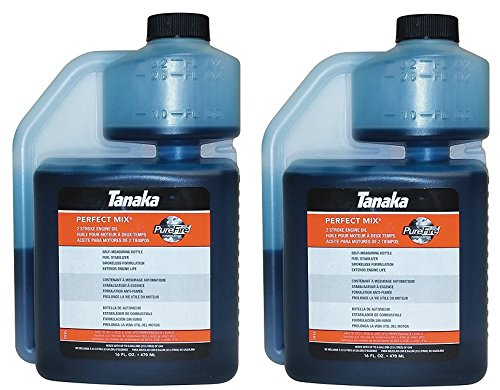 Tanaka 700208 16 oz 2 Cycle Oil in Self Measuring Bottle - Quantity 2