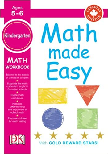 Math Made Easy Kindergarten (Canadian Edition): DK: 9781553630487 ...
