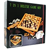 Hey! Play! Deluxe 7-in-1 Game Set - Chess