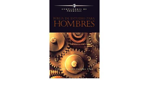 Bíblia de Estudio para Hombres: Cumplidores de Promesas ...