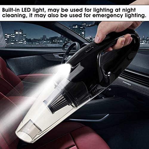 WUQIUYU Aspirateur Rechargeable USB Humide portatif de Voiture sans Fil 120W 5500PA