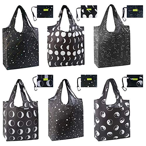 Reusable Grocery Bag Shopping Tote Bags Foldable Reusable Shopping Lightweight