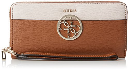 Guess - Swdm6421460, Bolsos bandolera Mujer, Marrone (Cognac Multi), 2x10x21 cm (W x H L)