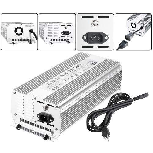 Earth Worth 1000W Electronic Digital Ballast For HPS or MH 1000 Watt Grow Bulbs - Dependable and Affordable! by Earth Worth