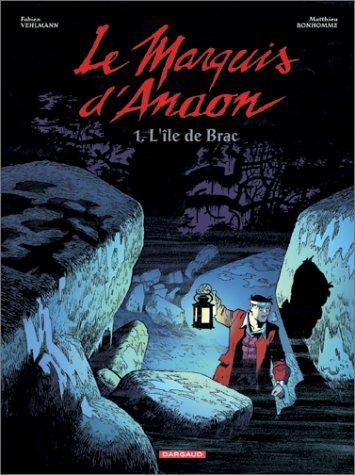 Le Marquis d'Anaon n° 1 L'Ile de Brac