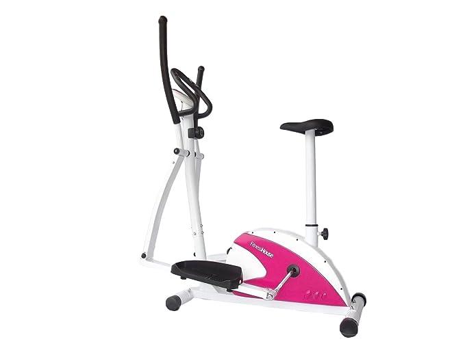 1 opinioni per Fitness House Dual Fh, Ellittica e Cyclette 2 in 1 Unisex Adult, Bianco,