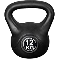 Vivol Kettlebell 12kg - Premium Trainingsgewicht - voor Fitness, Crossfit en Thuis gymnastiek